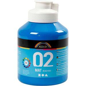 Acolor A-Color Mate, mate, bleu primaire, 500 ml/ 1 flacon - Publicité