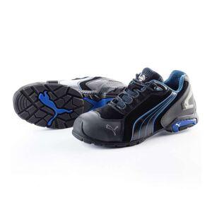 PUMA Chaussures de sécurité PUMA Metro Protect 64.275.0 Rio Black LOW S3 SRC Noire / Bleue - Taille - 40 - Publicité
