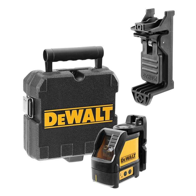 DEWALT MACHINES Laser DEWALT DW088CG en croix (2 Lignes vertes)