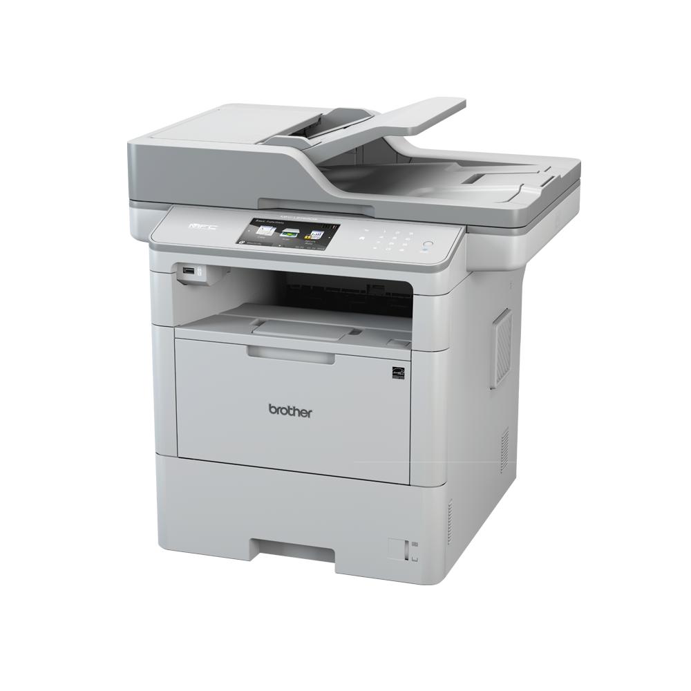 Brother Imprimante multifonctions Brother A4 Noir et Blanc - MFC-L6900 DW