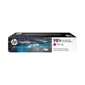 HP Cartouche d'encre d'origine HP 981Y Magenta - L0R14A - Publicité