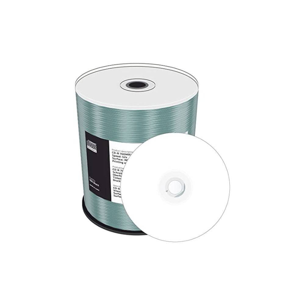 MediaRange CD-R Imprimable 52x MediaRange - Lot de 100 - 700 Mb - MR203