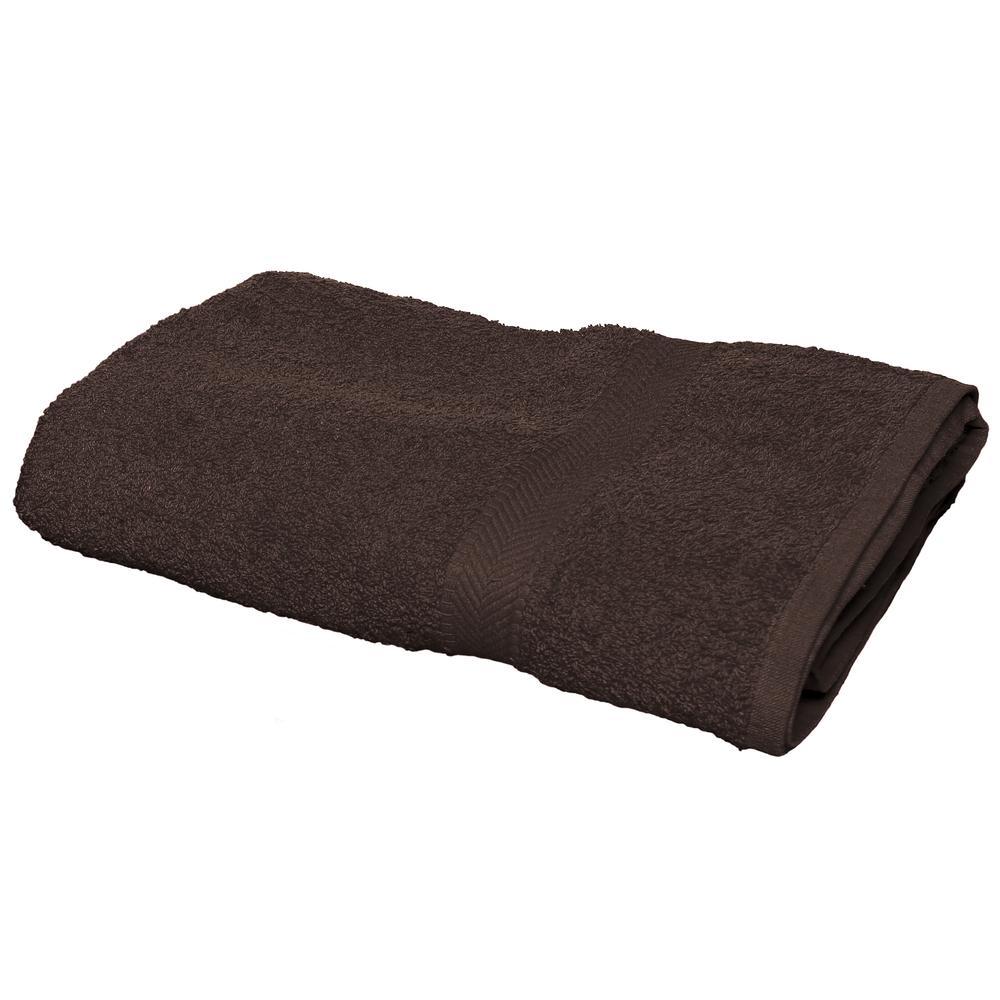 Towel city TC006 - Drap de bain Chocolat - Taille 100x150cm - ringspun