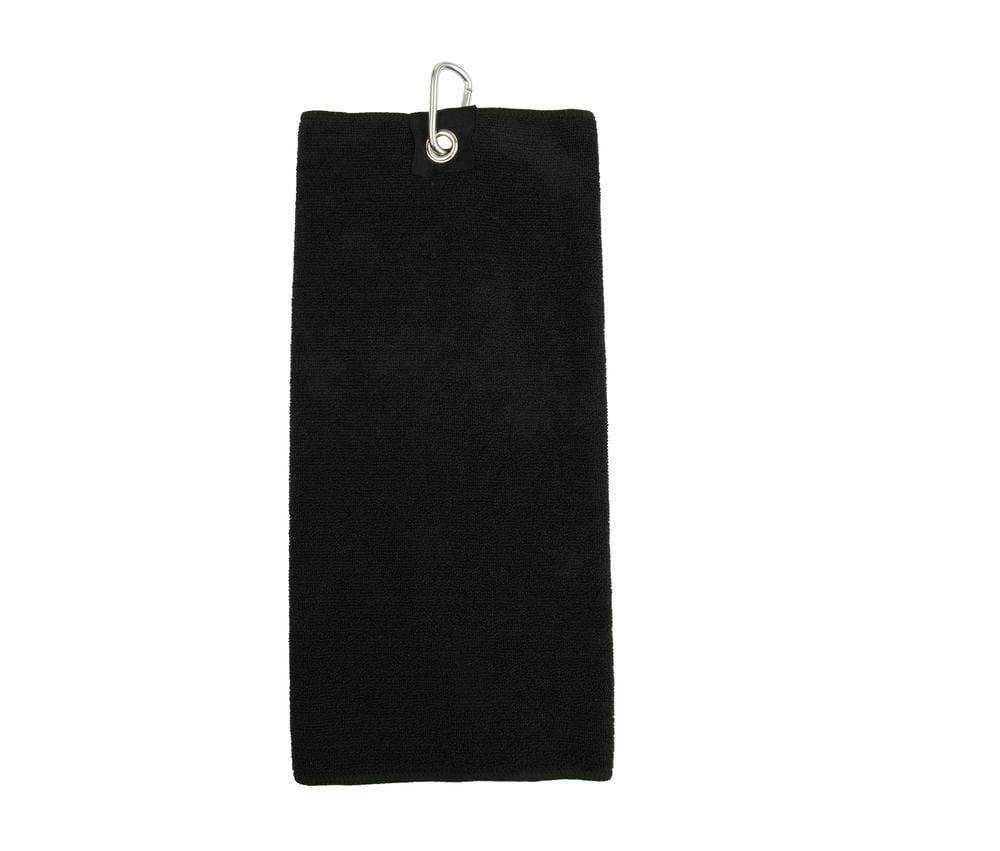 Towel city Serviette de golf microfibre Noir - Towel city TC019 - Taille 0