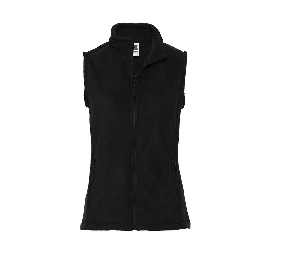 Russell JZ72F - Gilet Polaire Femme Poches Zippées Noir - S - polyester