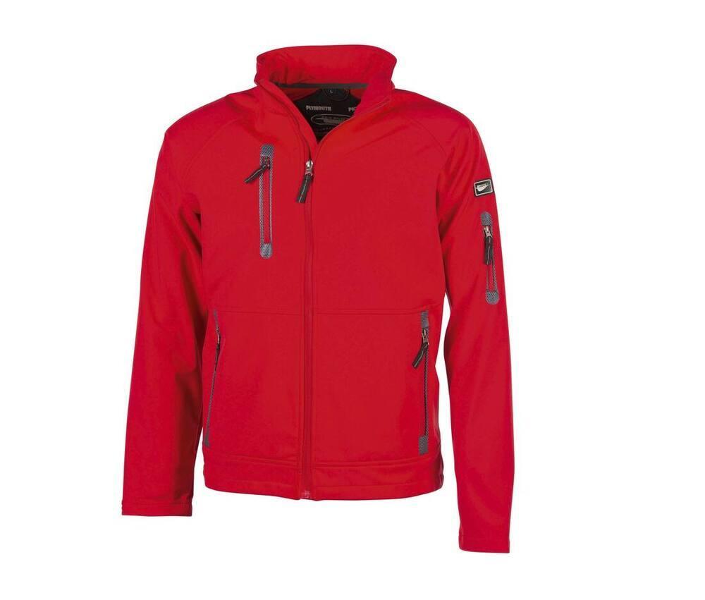 Pen Duick Veste Soft-Shell Homme 3 Couches Rouge - Pen Duick PK770 - Taille L