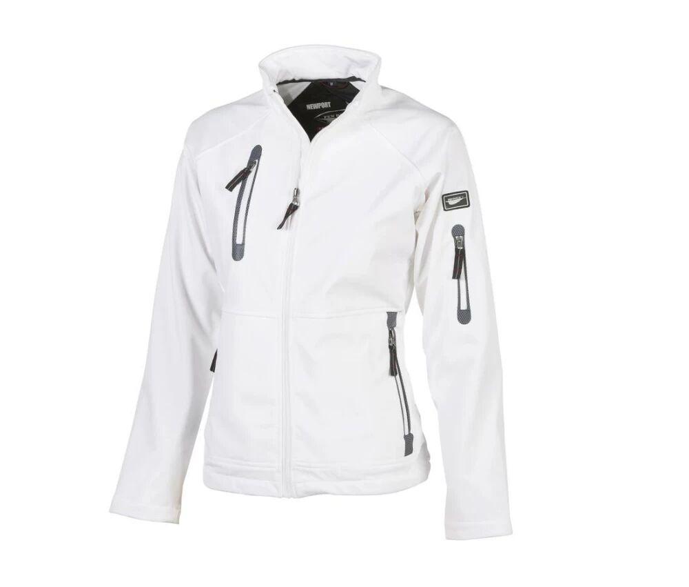Pen Duick Veste Soft-Shell Femme 3 Couches Polaire Blanc - Pen Duick PK775 - Taille S