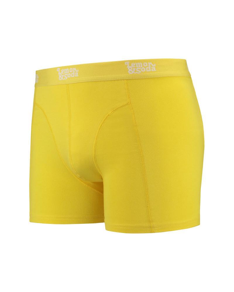 Lemon & Soda Sous-vetements Boxer Homme Electric Yellow - Lemon & Soda LEM1400 - Taille M