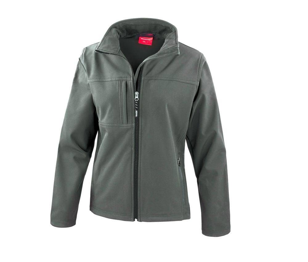 Result Veste classique Softshell 3 couches femme Gris - Result RS121F - Taille XL