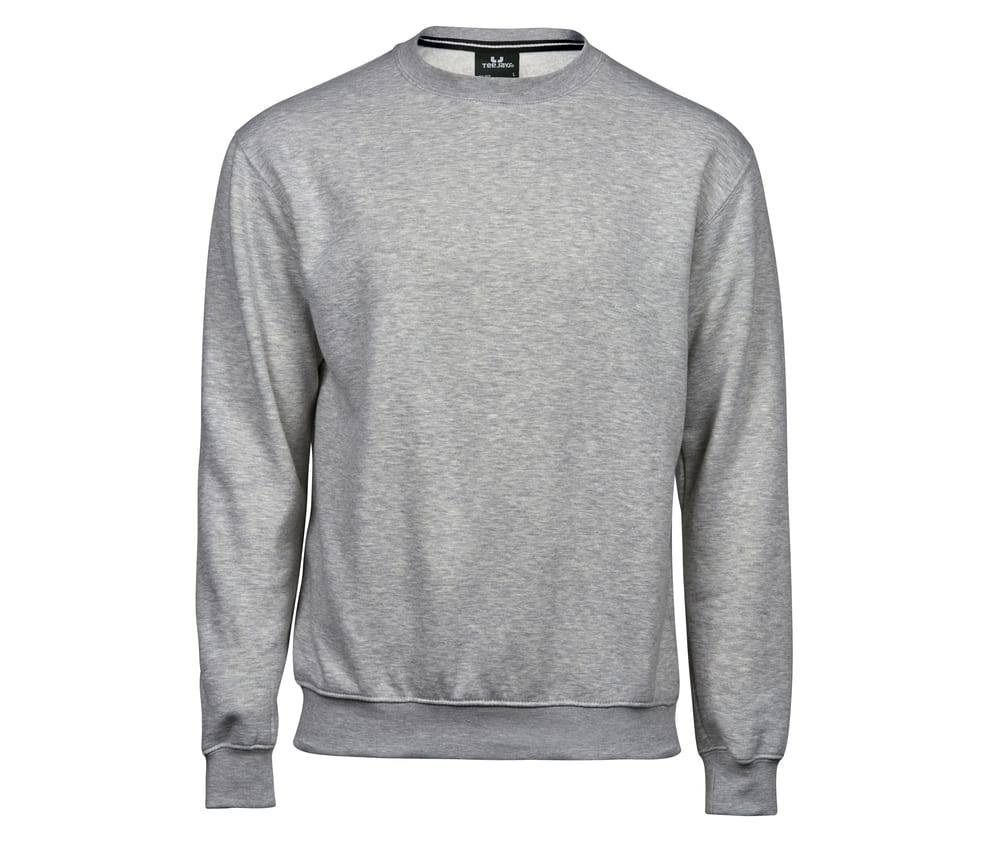 Tee Jays TJ5429 - Hommes Sweat col rond 70/30 Heather Grey - Taille 5XL