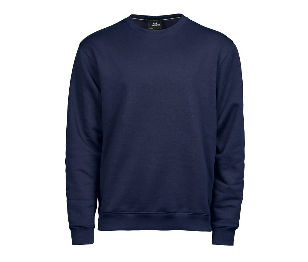 Tee Jays TJ5429 - Hommes Sweat col rond 70/30 Navy - Taille XL
