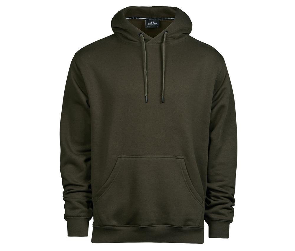 Tee Jays TJ5430 - Hommes Sweat capuche 70/30 Dark Olive - Taille XL