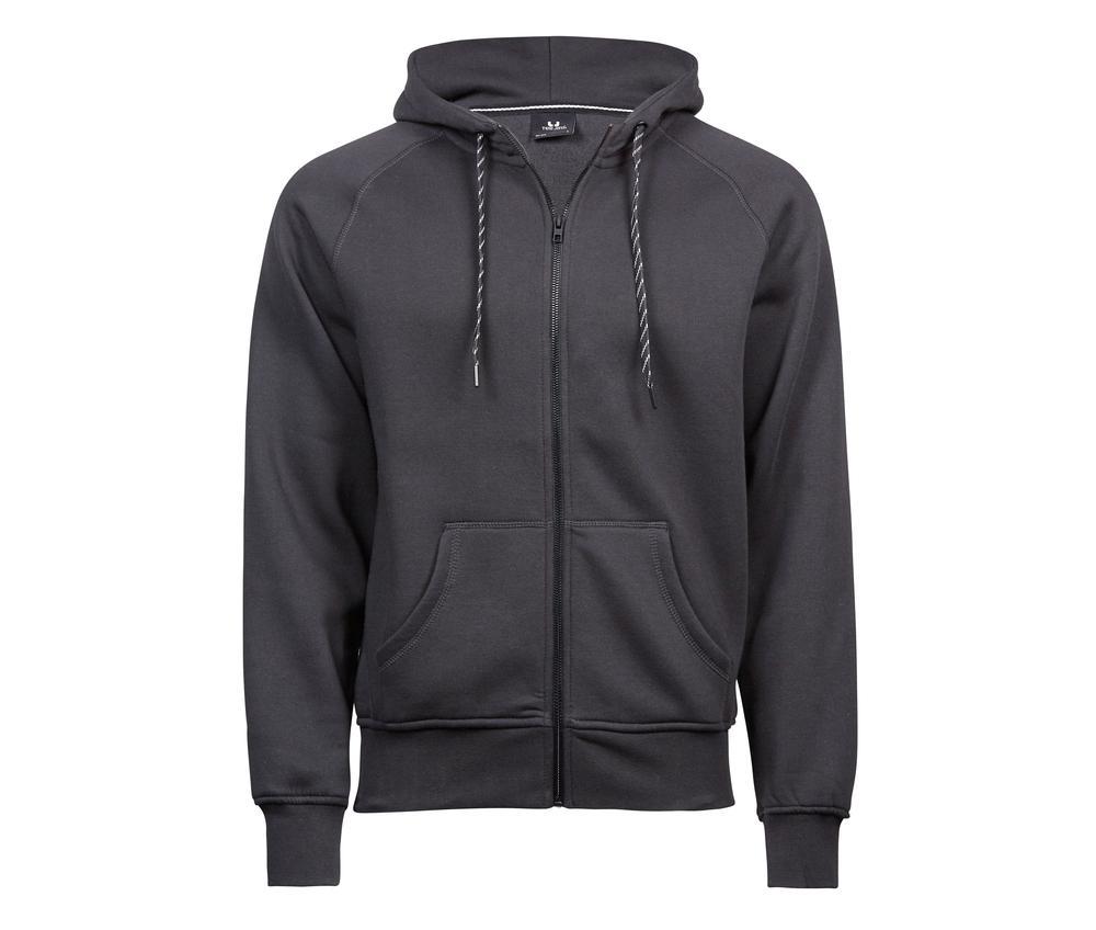 Tee Jays TJ5435 - Sweat zippe homme Dark Grey - Taille XL