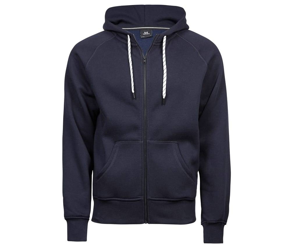 Tee Jays TJ5435 - Sweat zippe homme Navy - Taille 2XL