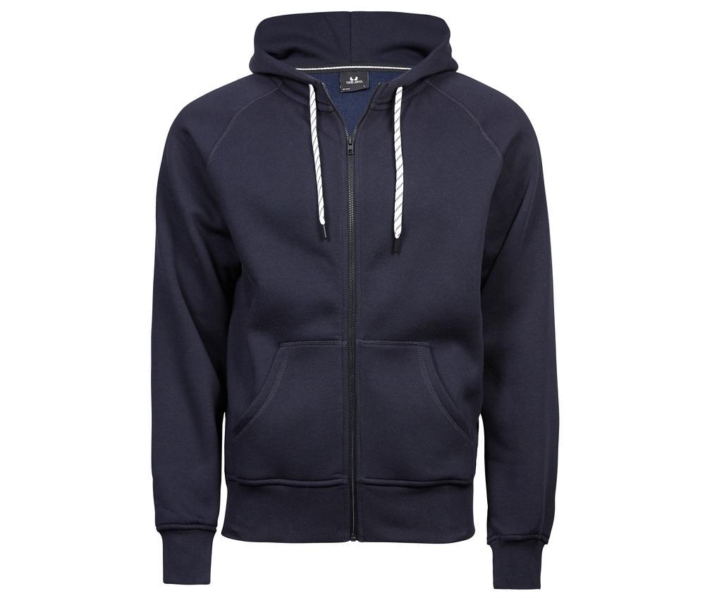 Tee Jays TJ5435 - Sweat zippe homme Navy - Taille 3XL