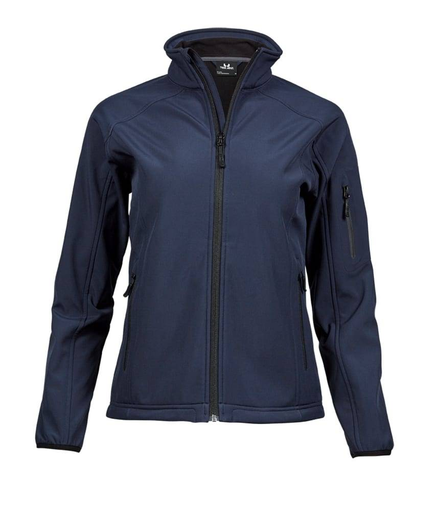 Tee Veste Softshell 3 couches femme Navy - Tee Jays TJ9511 - Taille 3XL