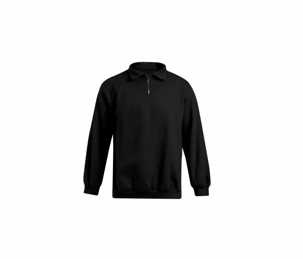 Promodoro PM5050 - Sweat homme col zippé Black - 3XL