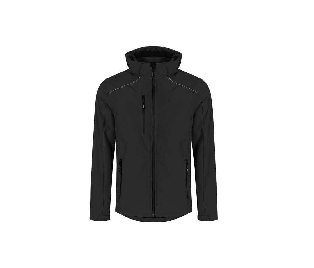Promodoro Veste Softshell homme 3 couches Black - Promodoro PM7850 - Taille S