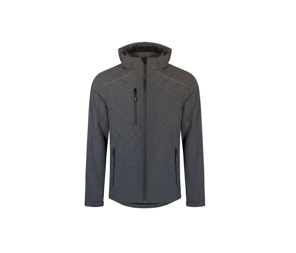 Promodoro Veste Softshell homme 3 couches Heather Grey - Promodoro PM7850 - Taille 4XL