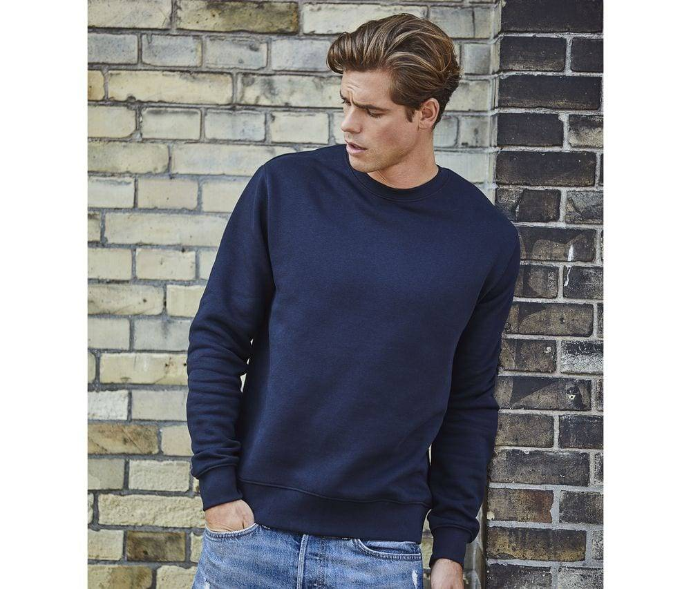 Tee Jays TJ5429 - Hommes Sweat col rond 70/30 Noir - Taille 5XL