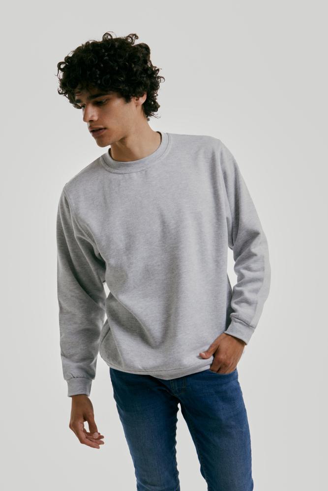 Radsow Apparel - Sweatshirt Col Rond Paris pour hommes UXX03 Noir - Taille M
