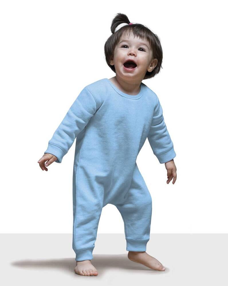 JHK Combinaison pour bebe LS Noir - JHK SWRBSUIT - Taille 6M