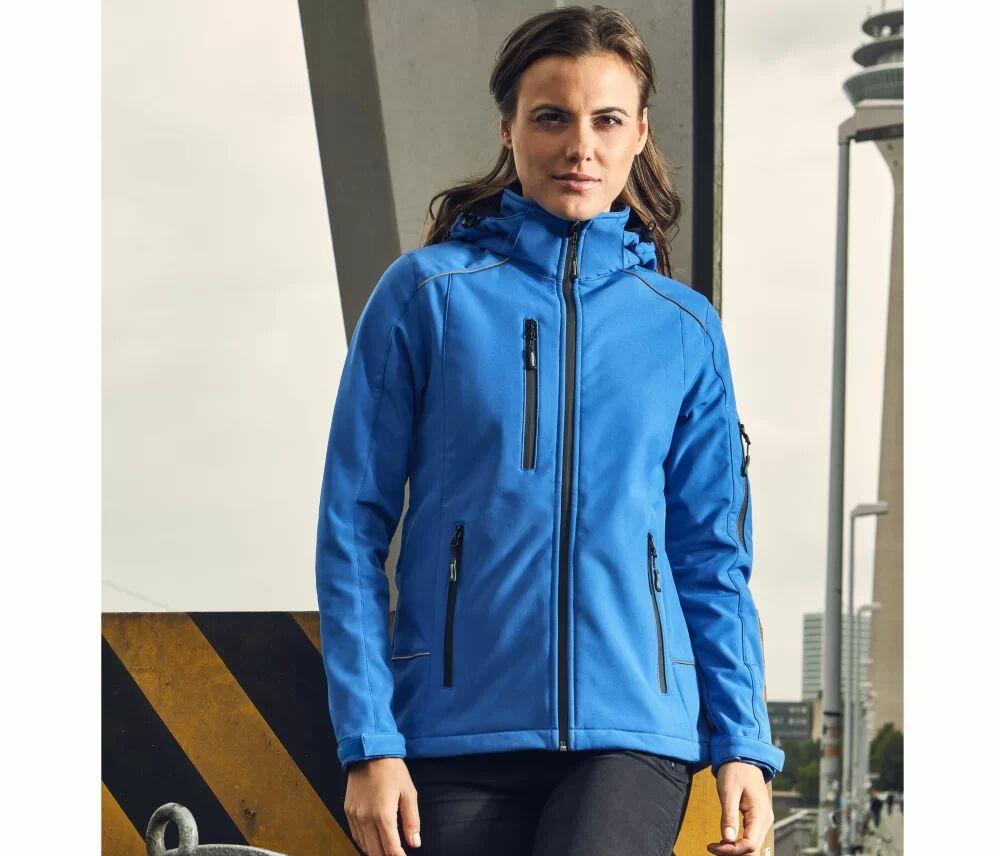 Promodoro Veste Softshell femme 3 couches Navy - Promodoro PM7855 - Taille 2XL