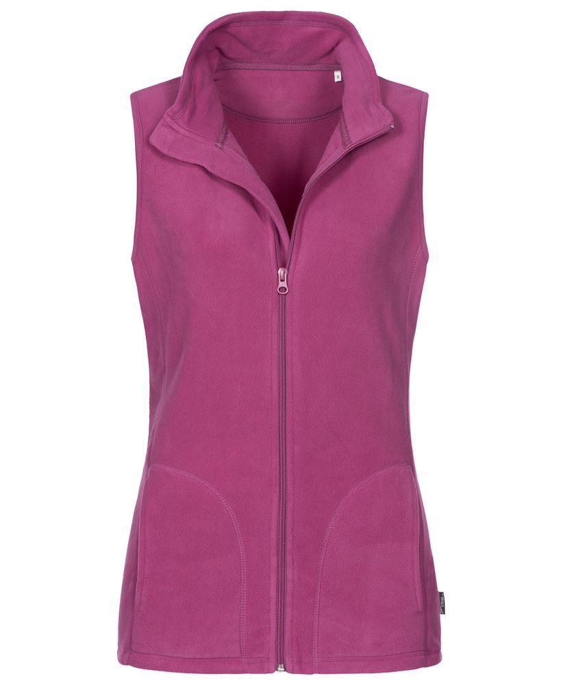 Stedman Gilet polaire pour femmes ACTIVE Cupcake Pink - Stedman STE5110 - Taille S