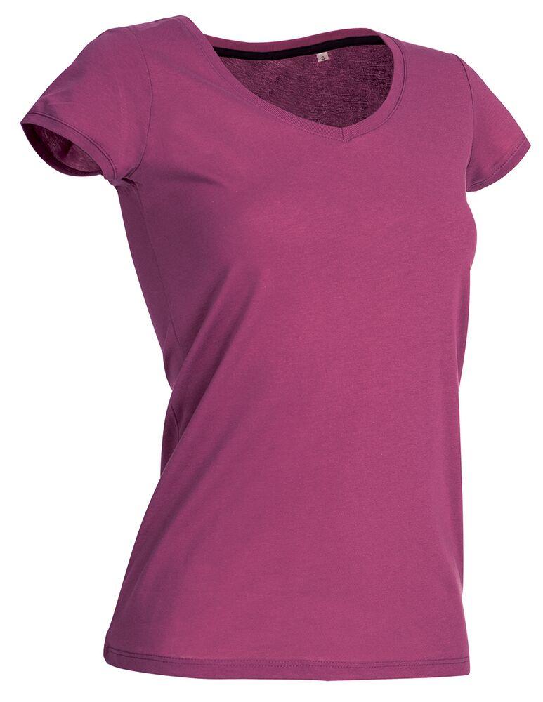 Stedman T-shirt manches courtes pour femmes Megan SS Cupcake Pink - Stedman STE9130 - Taille L