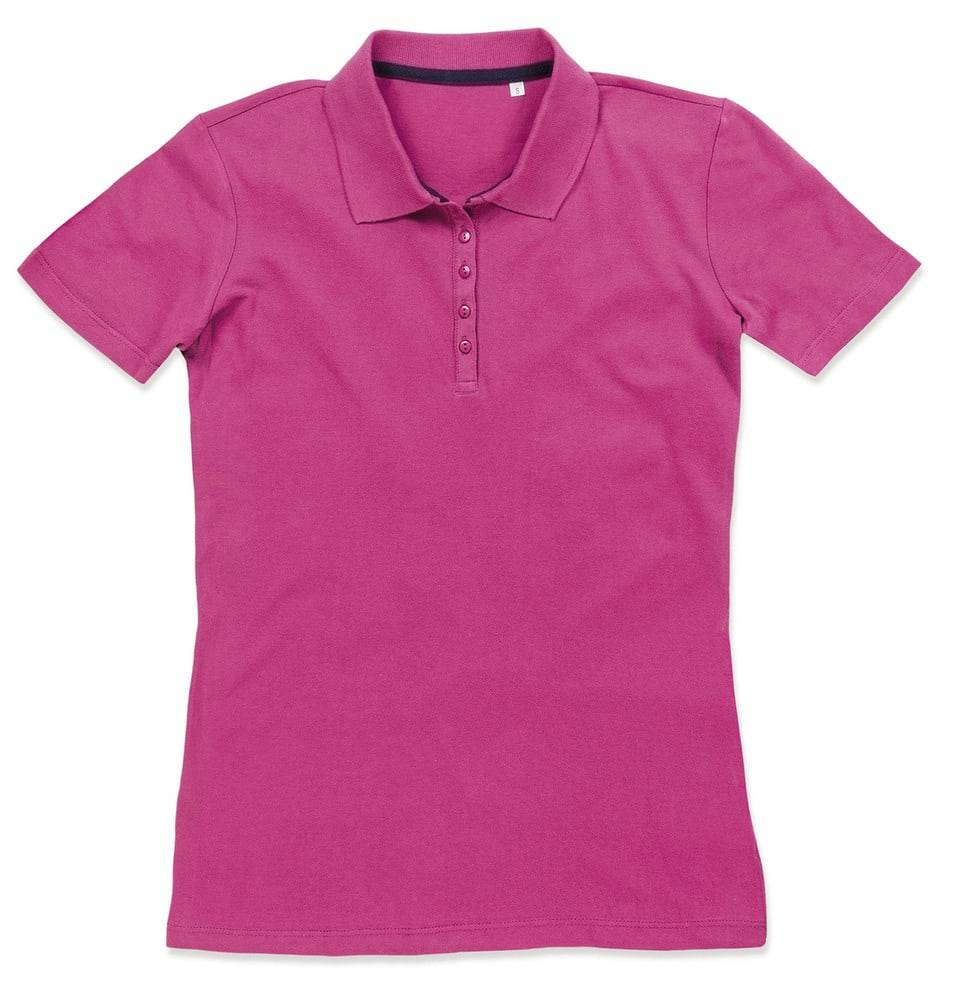 Stedman Polo Manches Courtes pour Femmes Cupcake Pink - Stedman STE9150 - Taille S