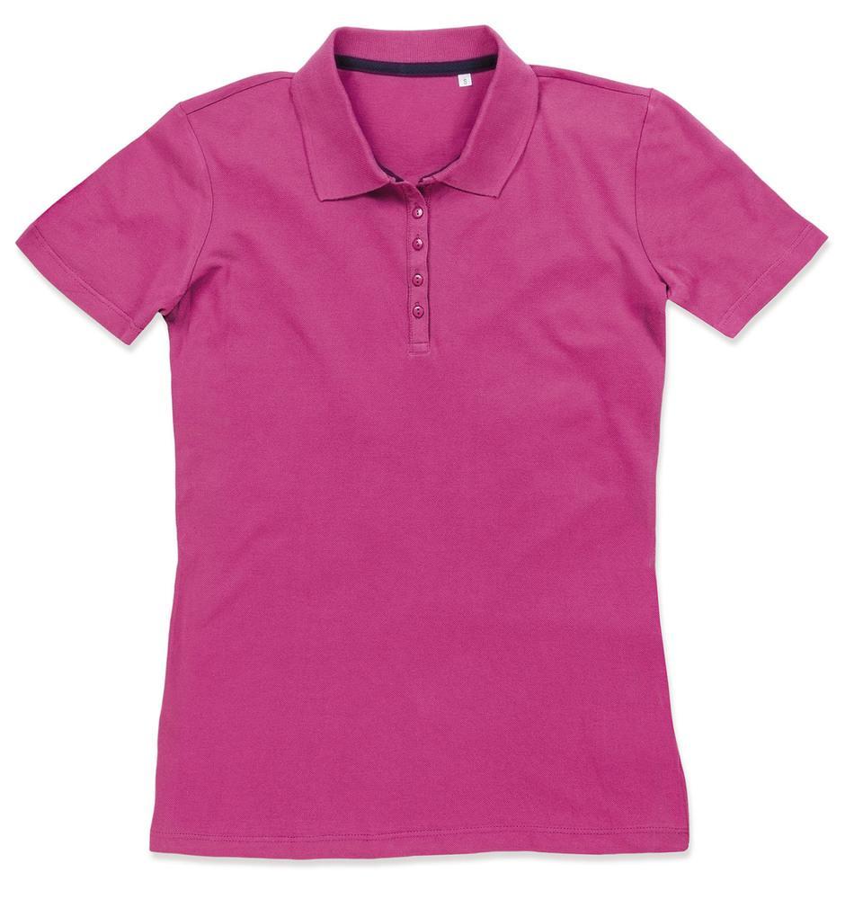 Stedman Polo Manches Courtes pour Femmes Cupcake Pink - Stedman STE9150 - Taille L