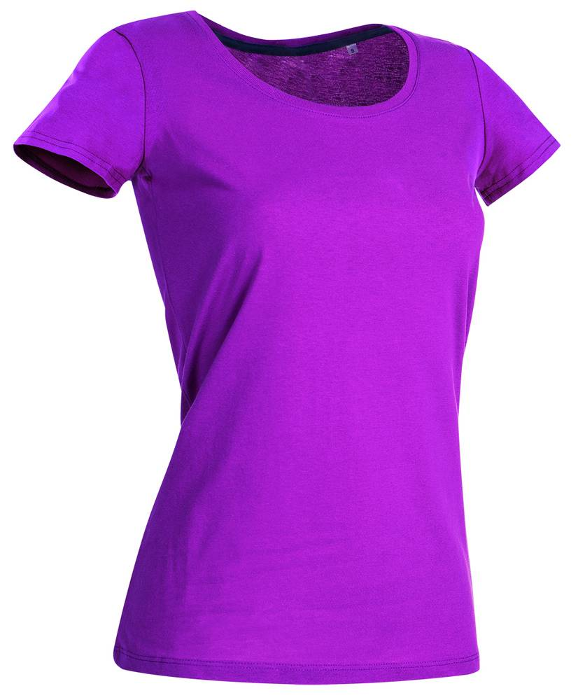 Stedman Tee-shirt pour Femmes Col Rond Cupcake Pink - Stedman STE9700 - Taille S