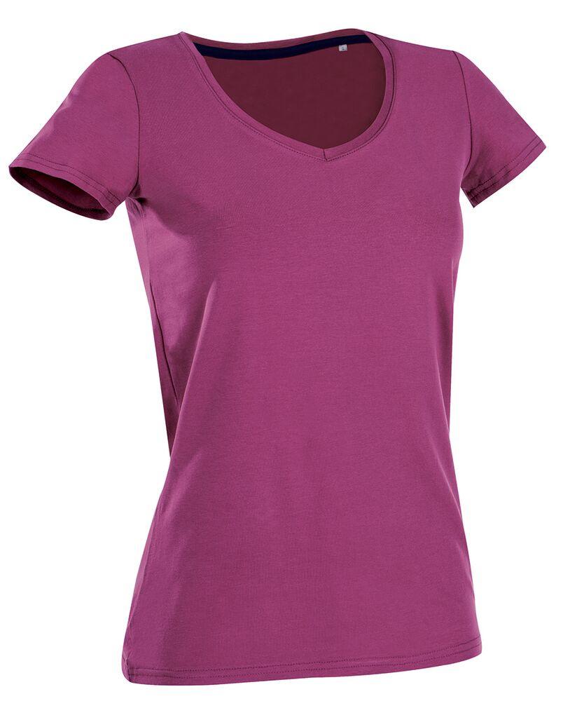 Stedman Tee-shirt col V pour femmes Cupcake Pink - Stedman STE9710 - Taille S