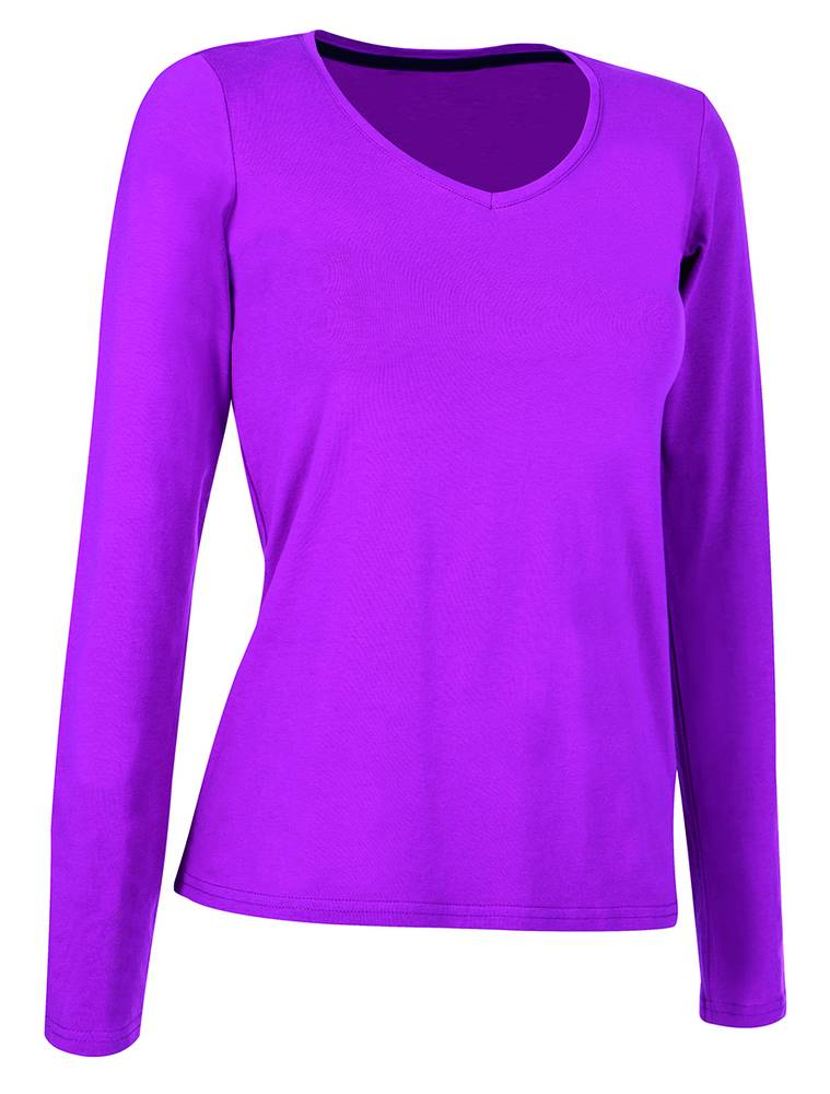Stedman Tee-shirt manches longues pour femmes Cupcake Pink - Stedman STE9720 - Taille L