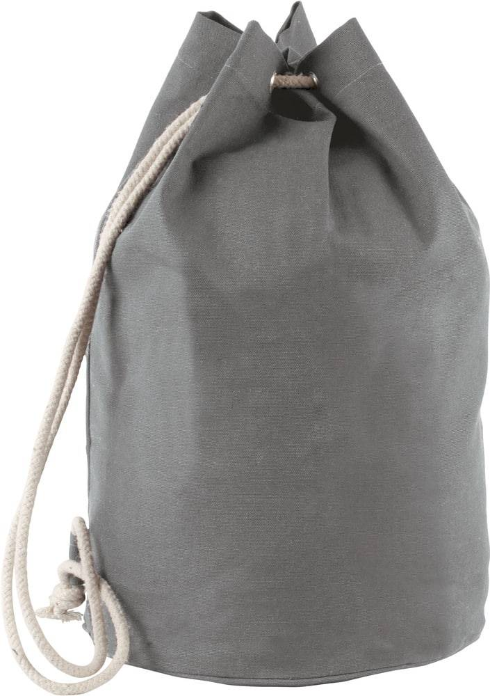 Kimood Pack 50 Kimood KI0629 - Unisexe Sac marin en coton avec cordon Gris