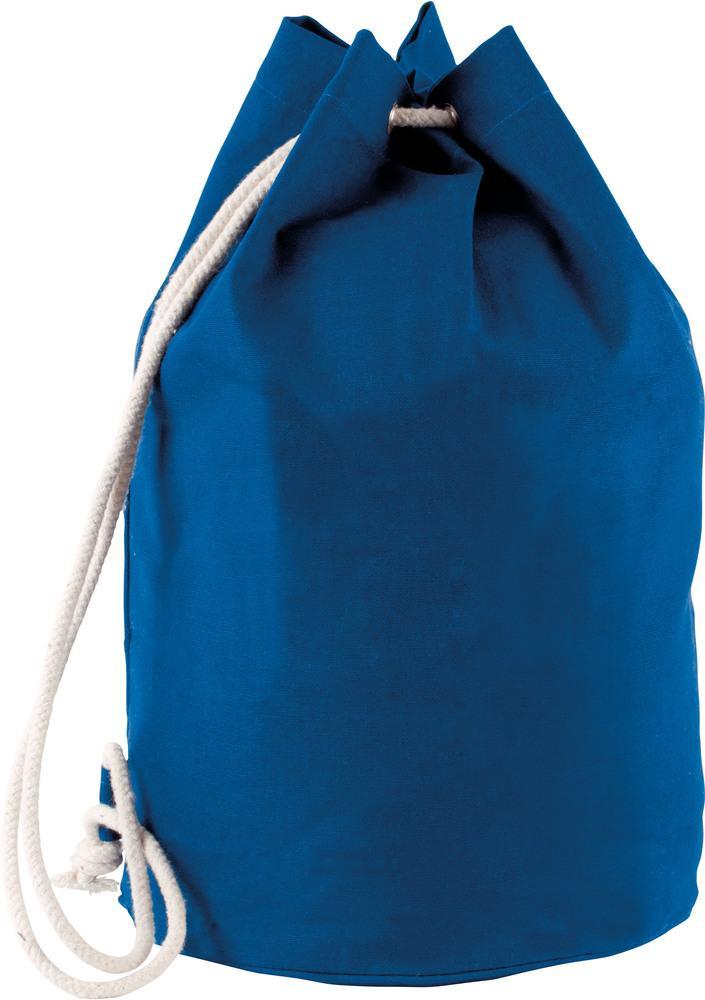 Kimood Pack 50 Kimood KI0629 - Unisexe Sac marin en coton avec cordon Royal Blue