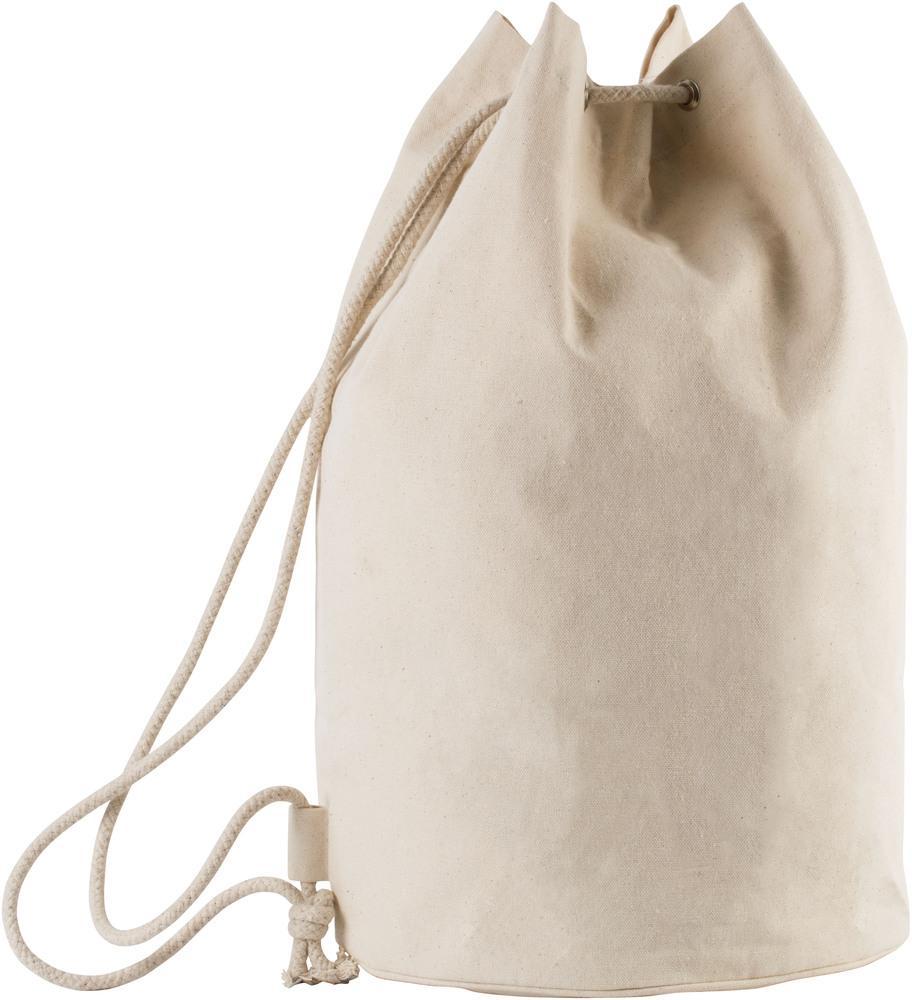 Kimood Pack 50 Kimood KI0629 - Unisexe Sac marin en coton avec cordon Naturel
