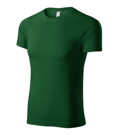 PICCOLIO P74 - Unisexe t-shirt Peak mixte vert bouteille - Taille 4XL