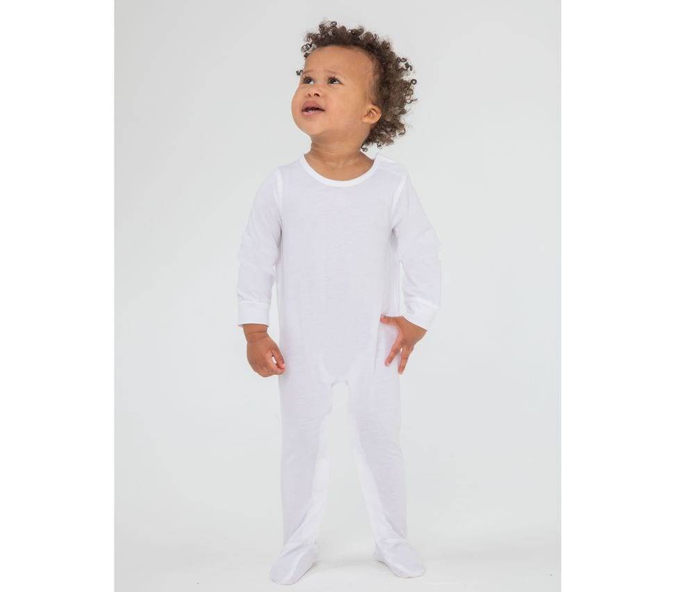Larkwood LW650 - Pyjama bio White - 03M