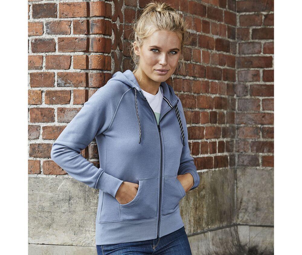 Tee Jays TJ5436 - Sweat zippé femme Noir - XL