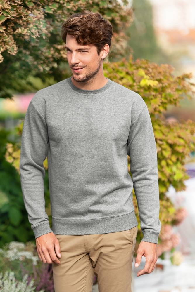 Malfini 406 - Sweatshirt Essential homme/enfant vert bouteille - 158 cm/12 ans