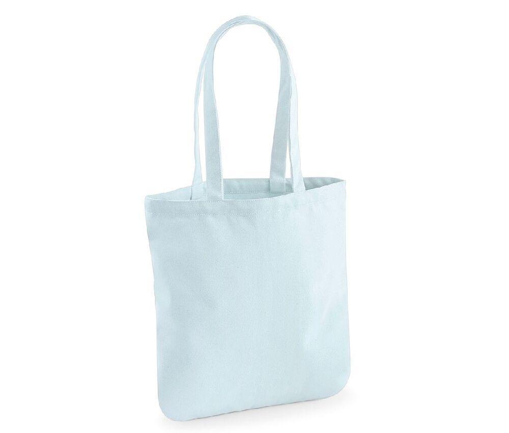 Westford mill WM821 - Sac Shopping 100% Coton Bio Pastel Blue - cotton