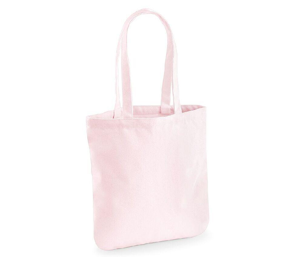 Westford mill WM821 - Sac Shopping 100% Coton Bio Pastel Pink - cotton