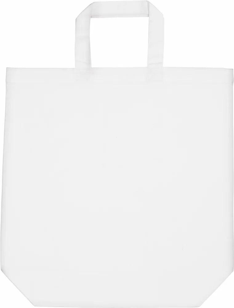 Kimood Pack 50 Kimood KI0247 - Sac shopping en coton White