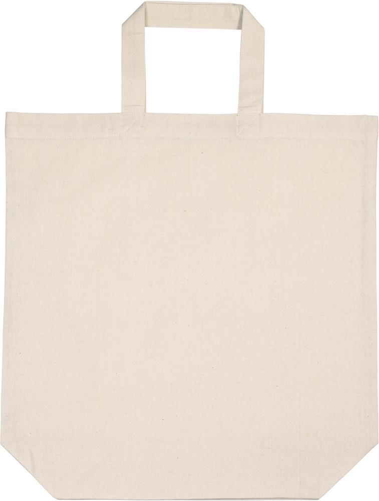 Kimood Pack 50 Kimood KI0247 - Sac shopping en coton Naturel