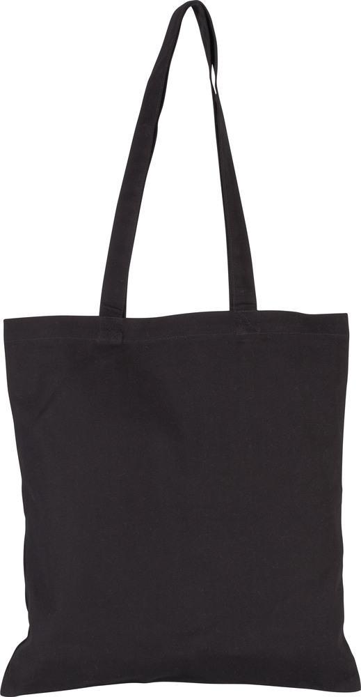 Kimood Pack 50 Kimood KI0250 - Sac shopping en coton canvas Noir