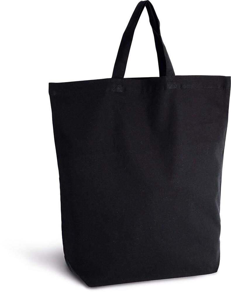 Kimood Pack 50 Kimood KI0247 - Sac shopping en coton Noir
