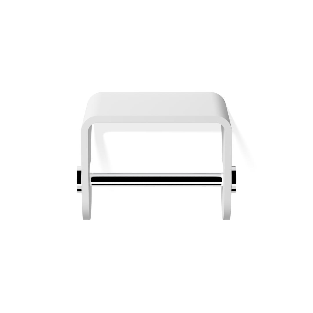 Decor Walther Porte Papier Toilette Decor Walther Stone - Blanc/Chrome