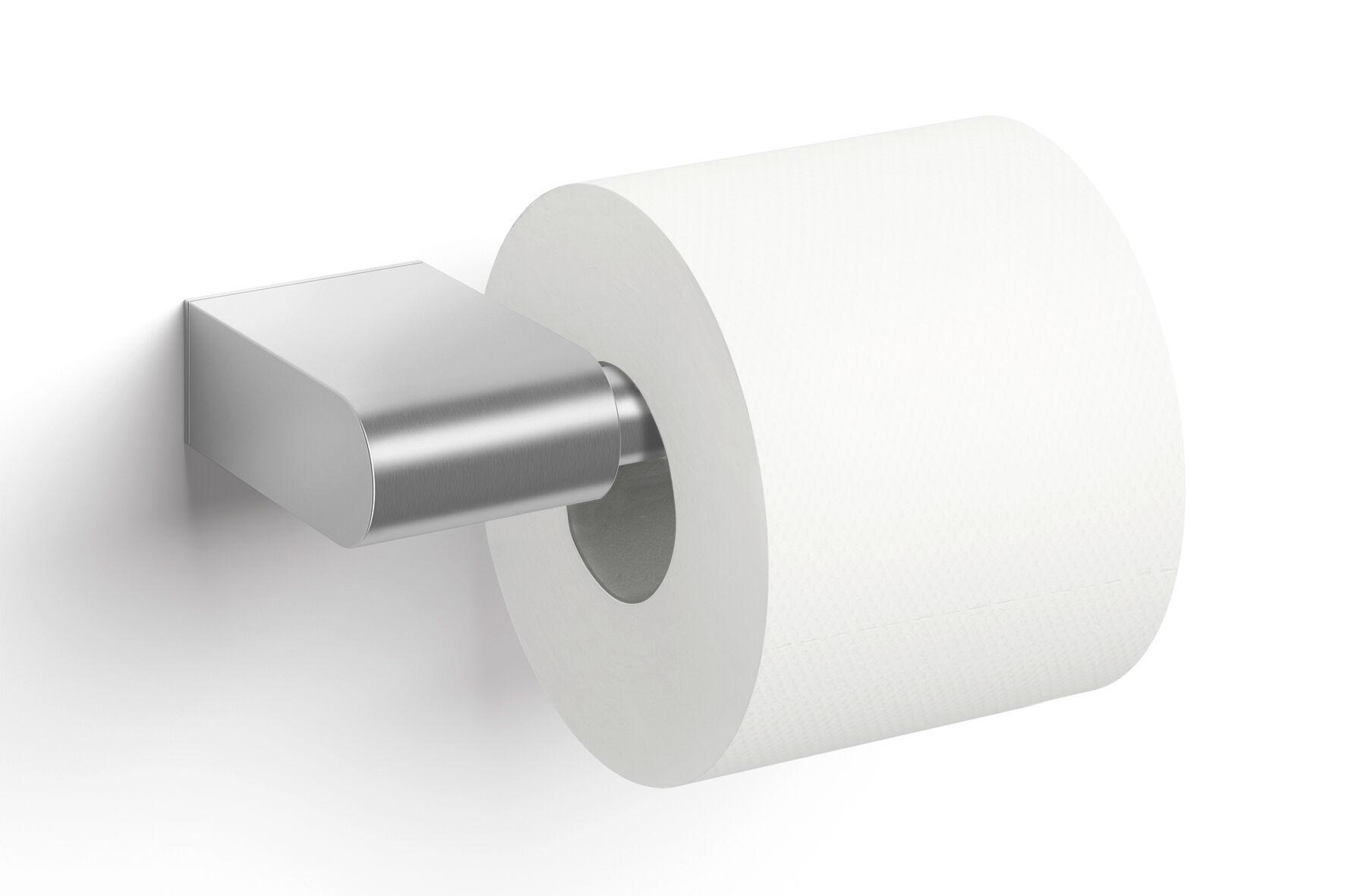 Zack Porte Papier Toilette Single Atore Acier Mat