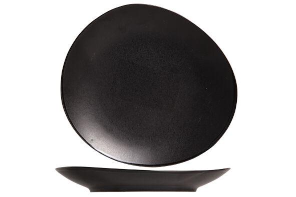 Cosy & Trendy assiette à Pain Vongola Black 15.2 x 14 cm